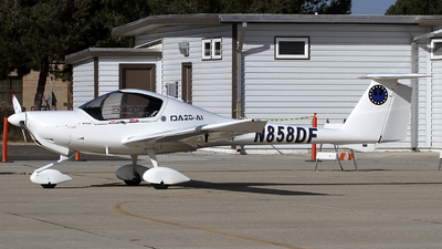 N858DF - Diamond DA-20-A1 Katana - Private