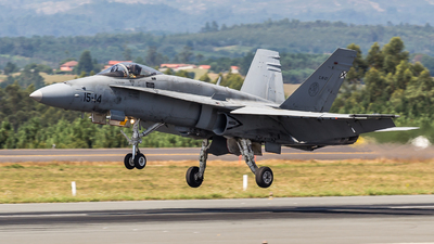 C.15-27 - McDonnell Douglas EF-18M Hornet - Spain - Air Force