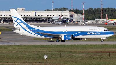 A picture of VPBCJ - Boeing 73746Q(SF) - Atran - © Alberto Cucini