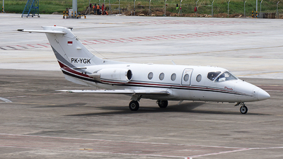 PK-YGK - Hawker Beechcraft 400XP - Tri-MG Intra Asia Airlines