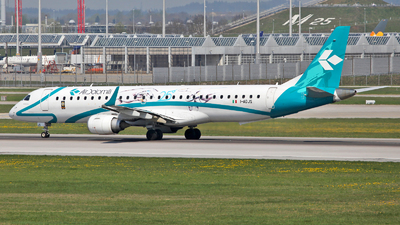 I-ADJS - Embraer 190-200LR - Air Dolomiti