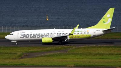 A picture of JA812X - Boeing 73786N - Solaseed Air - © Kazuchika Naya