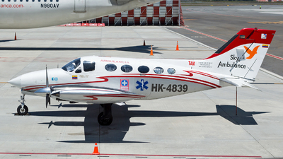 HK-4839 - Cessna 414 Chancellor - Sky Ambulance