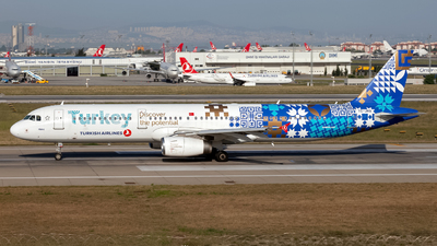 TC-JRG - Airbus A321-231 - Turkish Airlines