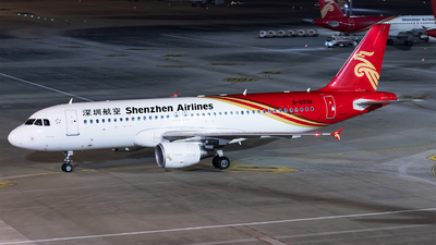 A picture of B6938 - Airbus A320214 - Shenzhen Airlines - © Levine