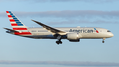 A picture of N872AN - Boeing 7878 Dreamliner - American Airlines - © TJDarmstadt