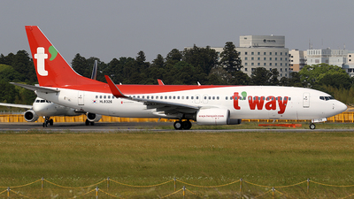 HL8326 - Boeing 737-8AS - T'Way Air
