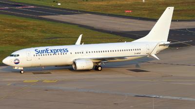 D-ASXZ - Boeing 737-8K5 - SunExpress Germany