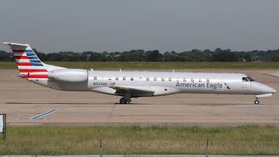 N624AE - Embraer ERJ-145LR - American Eagle (ExpressJet Airlines)