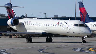 N607SK - Bombardier CRJ-702 - Delta Connection (SkyWest Airlines)