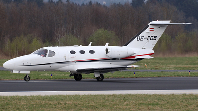 OE-FCB - Cessna 510 Citation Mustang - GlobeAir