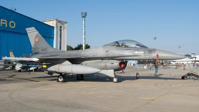 1602 - General Dynamics F-16AM Fighting Falcon - Romania - Air Force