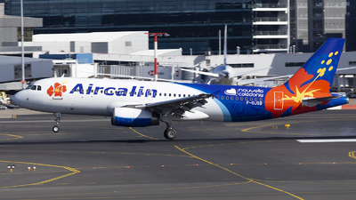 A picture of FOJSB - Airbus A320232 - Aircalin - © MQ1131