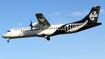 ZK-MVX - ATR 72-212A(600) - Air New Zealand Link (Mount Cook Airline)