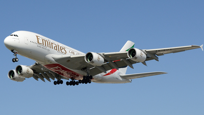 A6-EUJ - Airbus A380-861 - Emirates