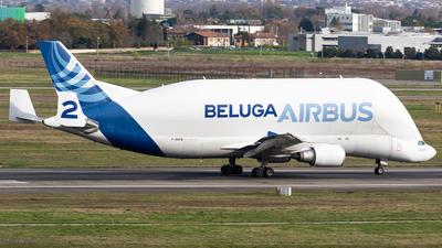 F-GSTB - Airbus A300B4-608ST Super Transporter - Airbus Transport International