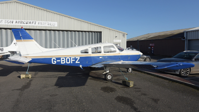 G-BOFZ - Piper PA-28-161 Cherokee Warrior II - Private