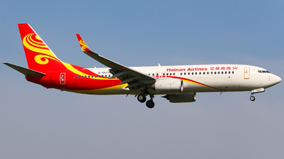 B-5623 - Boeing 737-84P - Hainan Airlines
