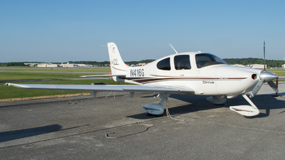 N416G - Cirrus SR22 - Private