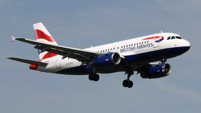 G-EUPU - Airbus A319-131 - British Airways