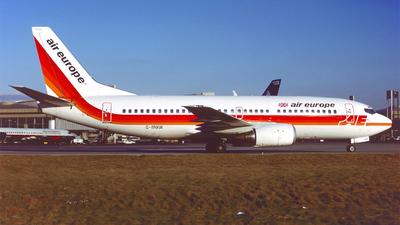 G-BNXW - Boeing 737-33A - Air Europe