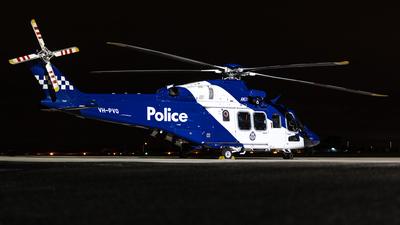 VH-PVQ - Agusta-Westland AW-139 - Australia - Victoria Police