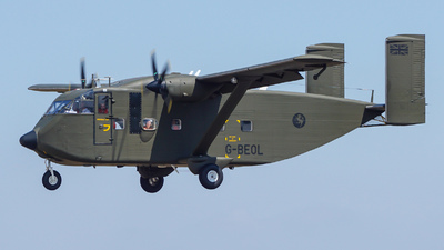 G-BEOL - Short SC-7 Skyvan 3-100 - Private