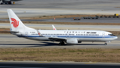 B-5680 - Boeing 737-89L - Air China