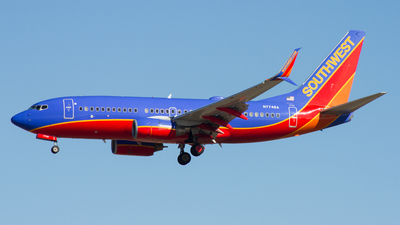 N7748A - Boeing 737-7BD - Southwest Airlines