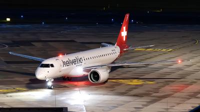 A picture of HBAZD - Embraer E190E2 - Helvetic Airways - © Sebastian Thiel