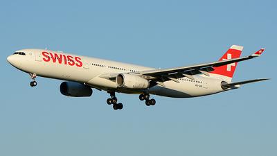 HB-JHB - Airbus A330-343 - Swiss