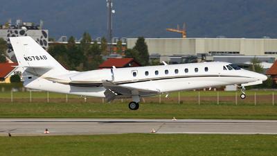 N578AB - Cessna 680 Citation Sovereign Plus - Private