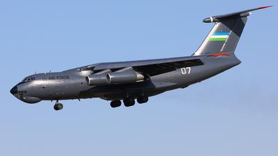 UK-76007 - Ilyushin IL-76MD - Uzbekistan - Air Force