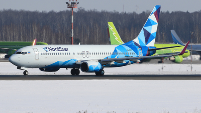 A picture of VQBQT - Boeing 7378AS - NordStar - © ShipSash