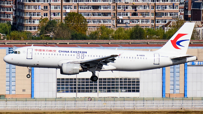 A picture of B6009 - Airbus A320214 - China Eastern Airlines - © MingyaoLeonardo