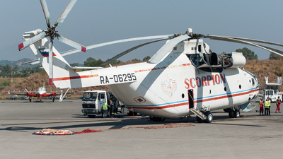 RA-06295 - Mil Mi-26T Halo - Scorpion Air