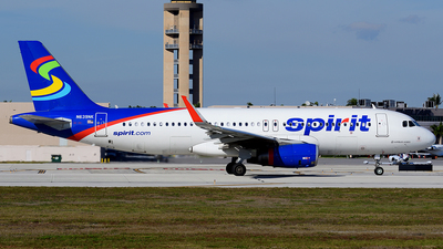 N639NK - Airbus A320-232 - Spirit Airlines