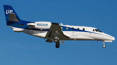 N503UP - Cessna 560XL Citation Excel - Wheels Up