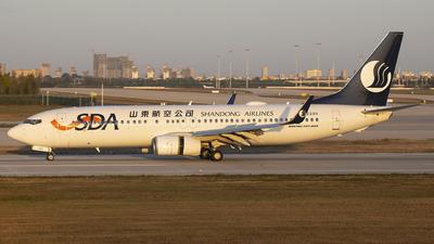 B-220V - Boeing 737-8JP - Shandong Airlines