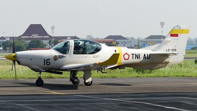 LD-1216 - Grob G120TP - Indonesia - Air Force