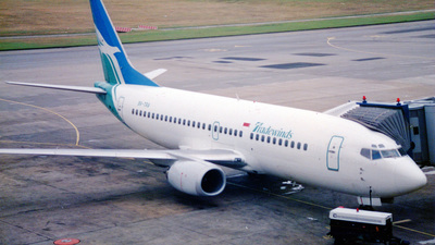 9V-TRA - Boeing 737-3Y0 - Tradewinds Airlines (Singapore)