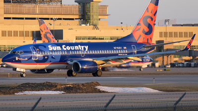 N710SY - Boeing 737-7Q8 - Sun Country Airlines