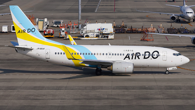 A picture of JA16AN - Boeing 737781 - Air Do - © Kittan