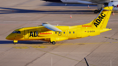 A picture of DBADA - Dornier 328310 JET - AeroDienst - © Yannick Schreiber