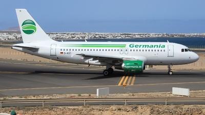 D-ASTB - Airbus A319-112 - Germania