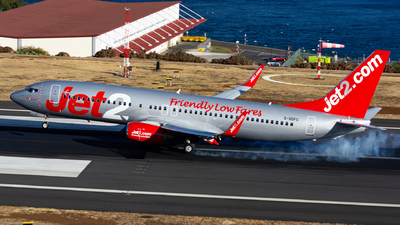 A picture of GGDFC - Boeing 7378K2 - Jet2 - © Nelson Sousa