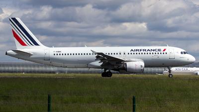 F-HBNK - Airbus A320-214 - Air France