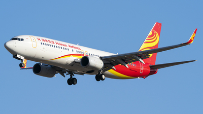 A picture of B1491 - Boeing 73784P - Hainan Airlines - © Li Youyang