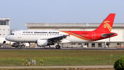 A picture of B6563 - Airbus A320214 - Shenzhen Airlines - © Egg_Shadowsine Aviation