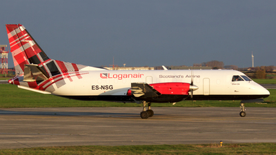 ES-NSG - Saab 340B(F) - Loganair (NyxAir)